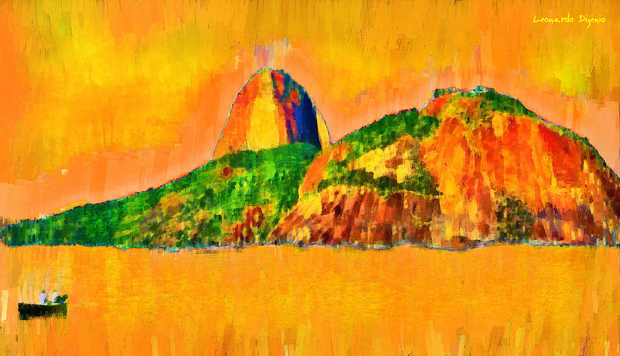 Sugarloaf Of Rio 23 - Pa Painting
