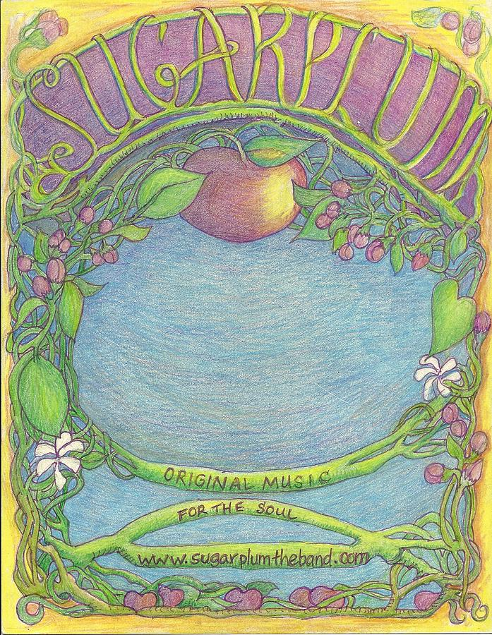 Sugarplum #8 Drawing by Cynthia Silverman