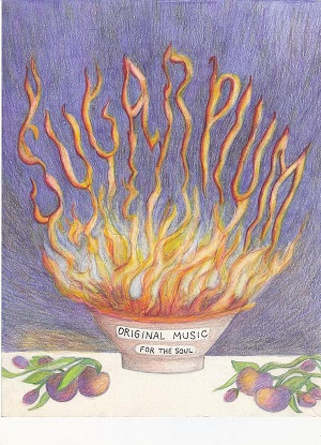 Sugarplum Fire Drawing by Cynthia Silverman