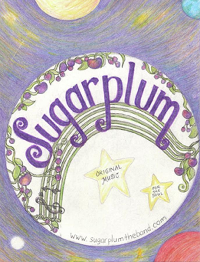 Sugarplum logo Drawing by Cynthia Silverman