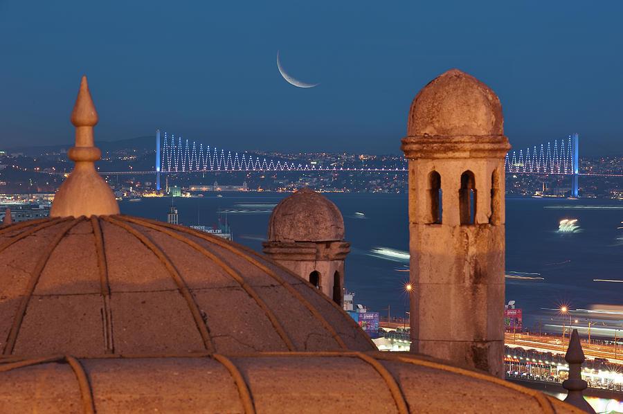 Horizontal Photograph - Suleymaniye by Salvator Barki