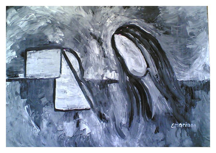 Fantasy Painting - Sulla Terra by Carla Marino