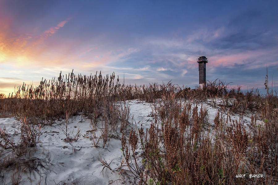 Sullivan's Island Photograph - Sullivans Island Landmark by Walt  Baker