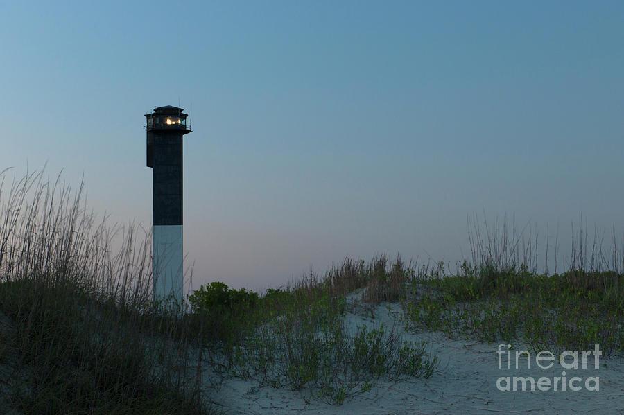 Sullivans Island Lighthouse In Charleston South Carolina Photograph