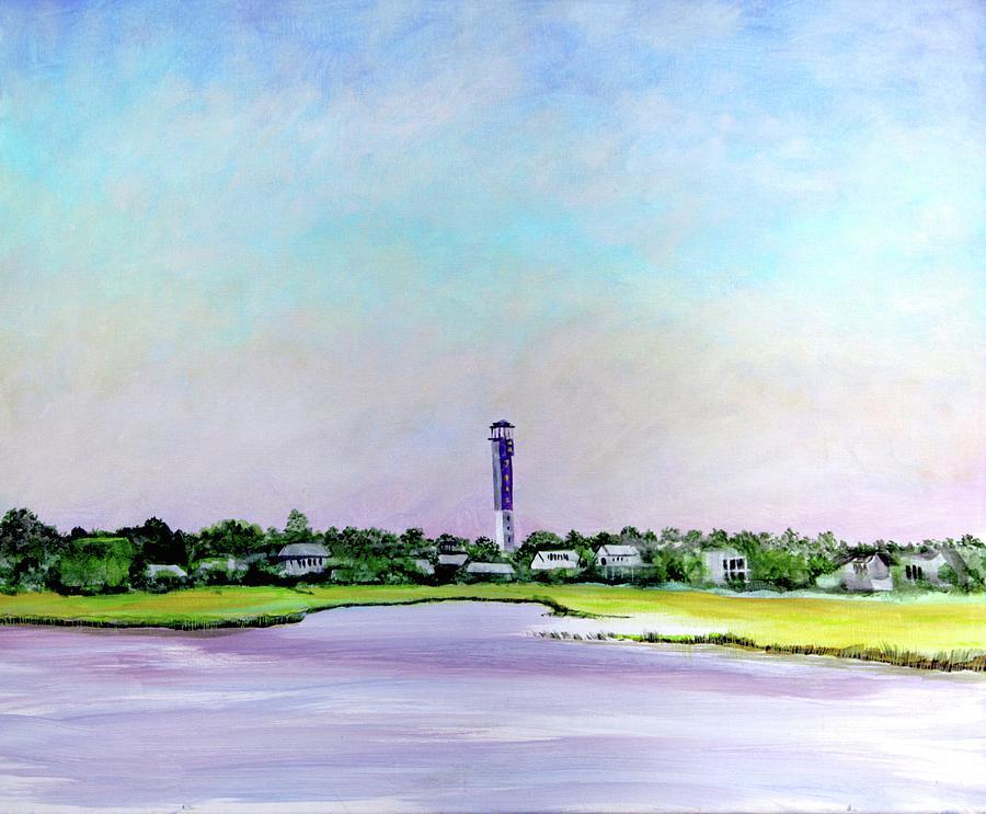 Sullivans Island Lighthouse by Virginia Bond
