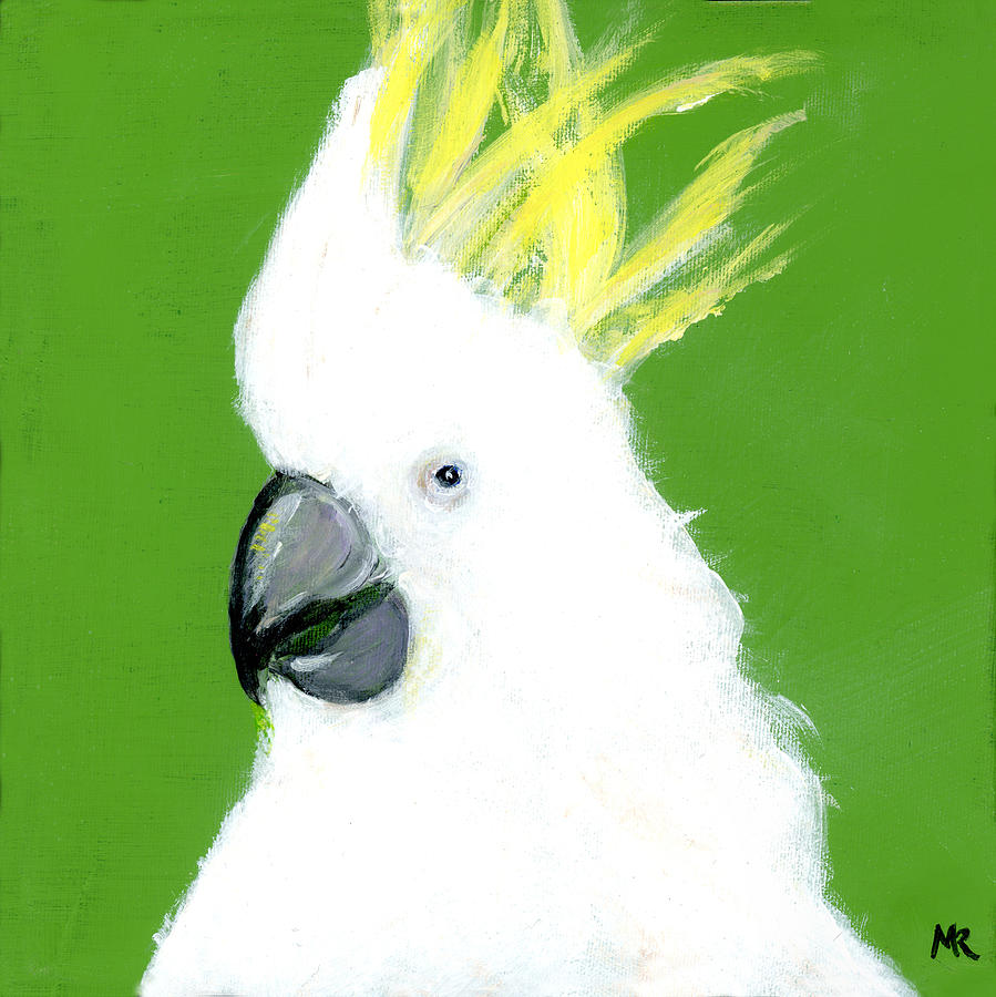 Sulphur Crested Cockatoo by Michelle Reeve