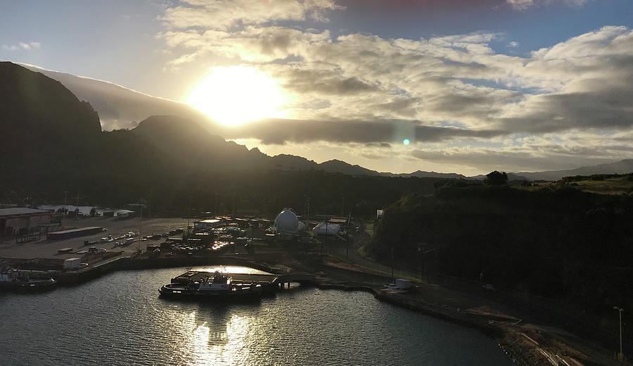 Sultry Hawaiian Sunrise by Louise Mingua