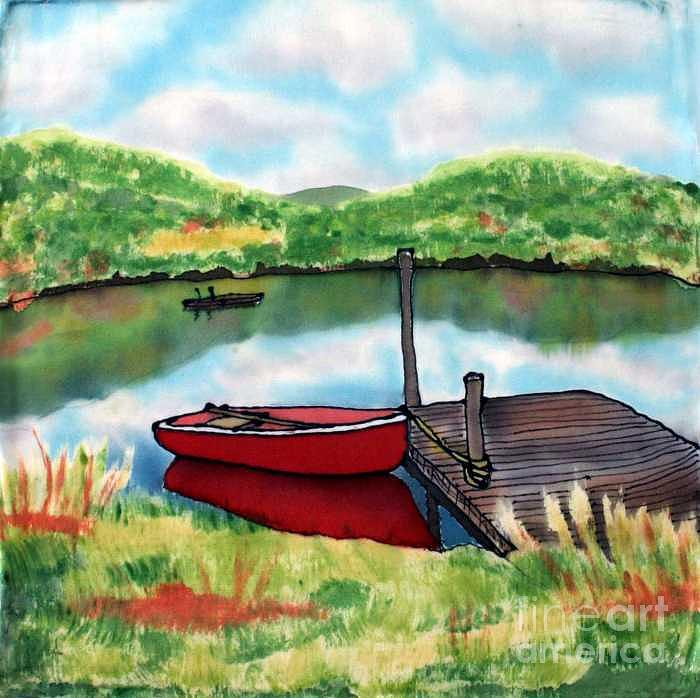 Summer Painting - Sumer Reflections by Linda Marcille
