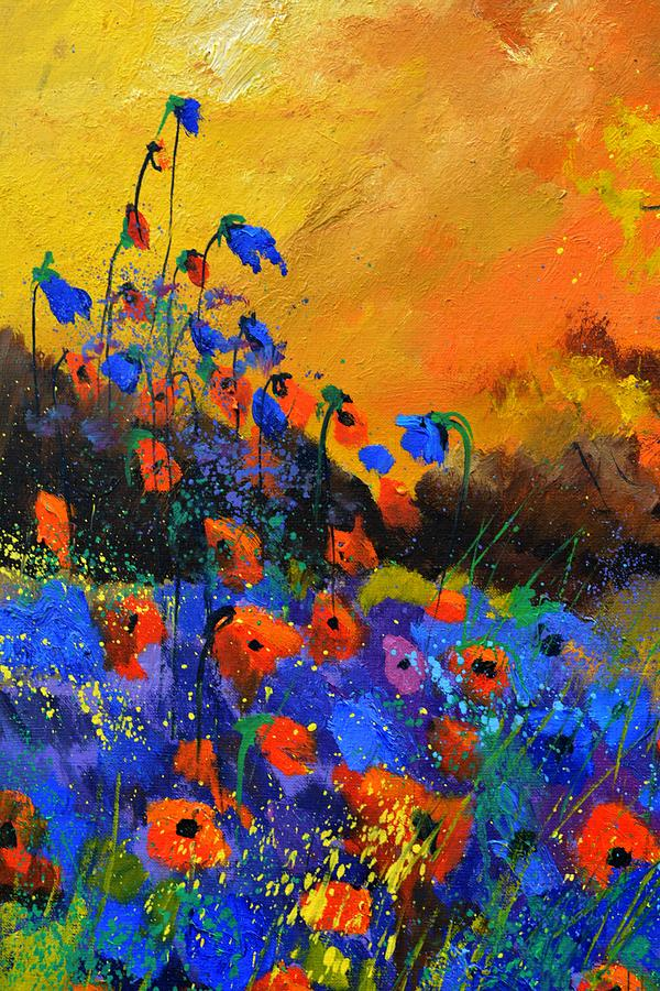 Poppies Painting - Summer 516091 by Pol Ledent