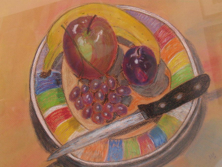 Fruit Painting - Summer Afternoon by Samuel Silk