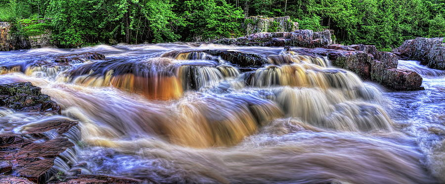 Summer At The Dells of The Eau Claire by Dale Kauzlaric