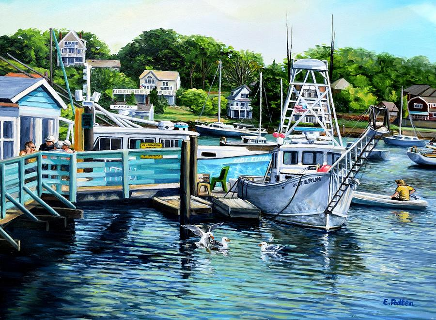 Summer Afternoon, Rocky Neck by Eileen Patten Oliver