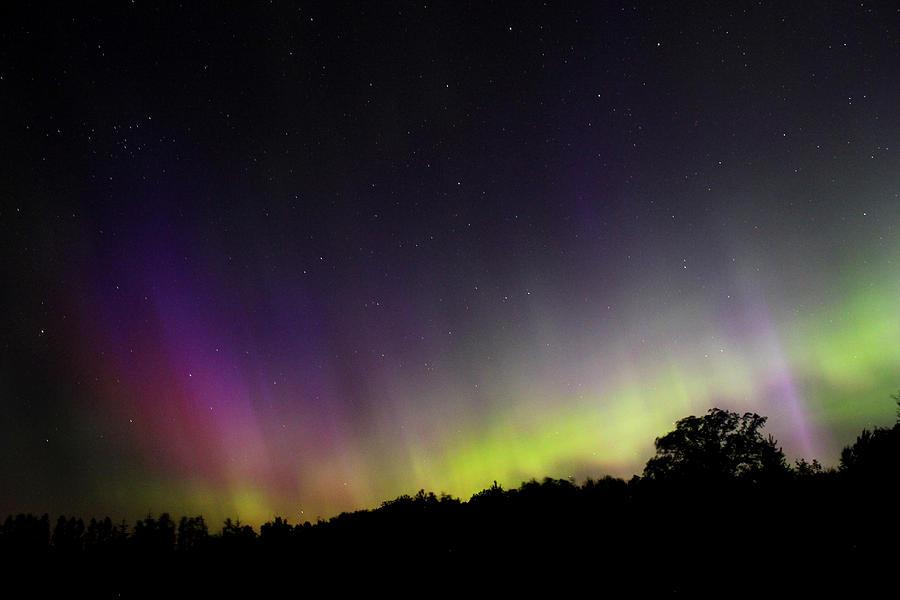 Northern Lights Photograph - Summer Auroras  by Brook Burling