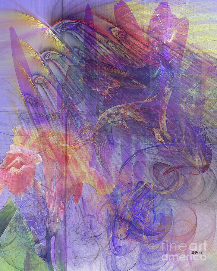Floral Digital Art - Summer Awakes by John Beck