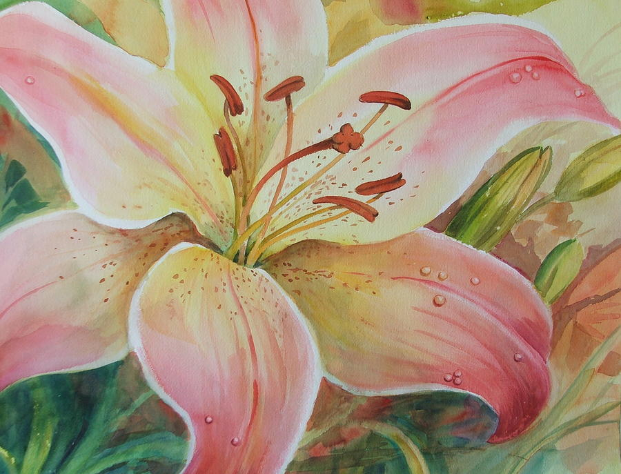 Flower Painting - Summer Beauty by Dianna Willman