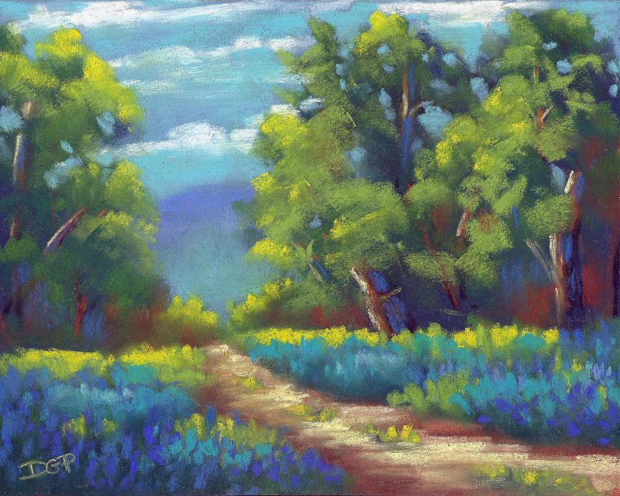 Summer Painting - Summer Blues by David G Paul