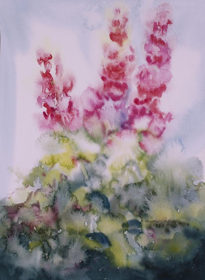 Watercolour Painting - Summer Breeze by Heather Gallup