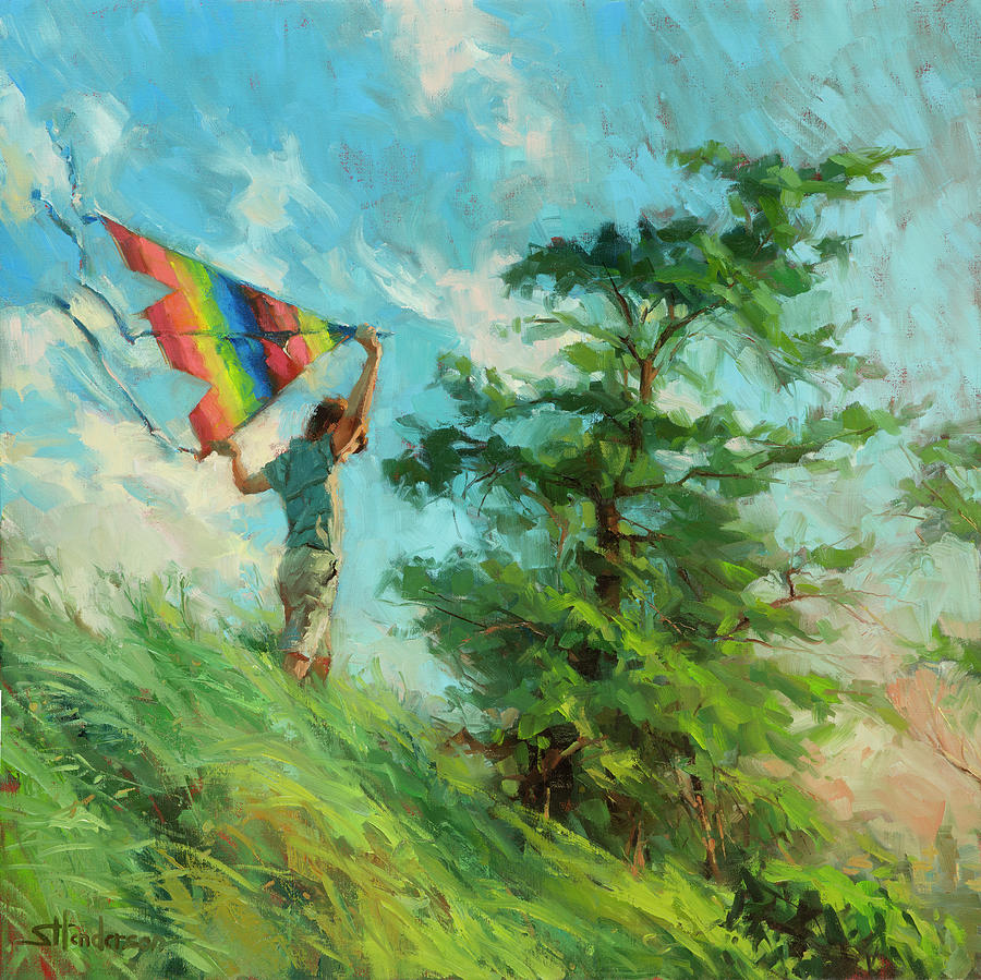 Summer Breeze by Steve Henderson