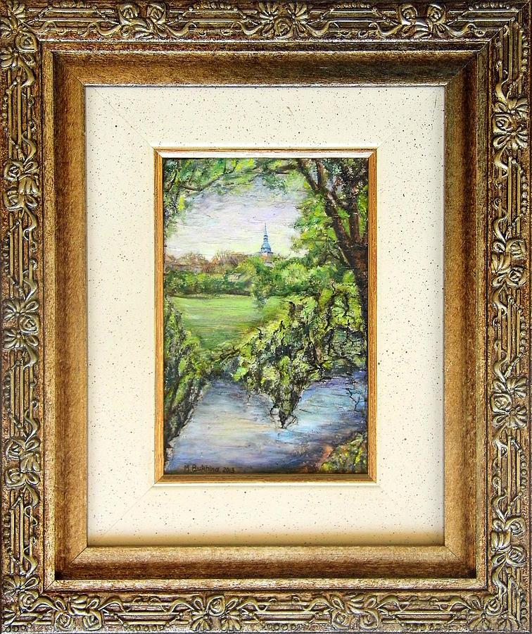 Nature Painting - Summer Came by Maya Bukhina