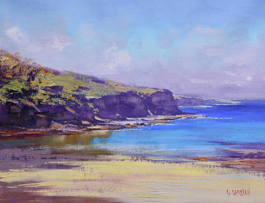 Beach Scenes Painting - Summer Colors by Graham Gercken