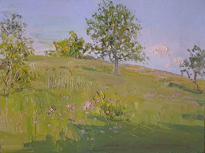 Summer Painting - Summer Day by Gregory Gamaley