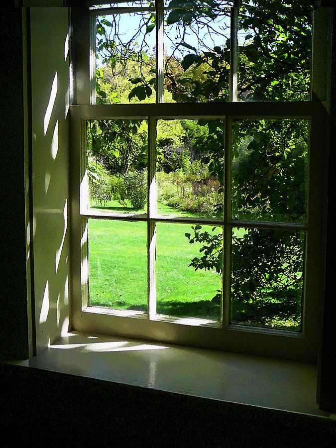 dfa926f64cac Summer Day Through The Window Photograph by Susan Savad