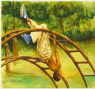 Summer Days Painting by Leonard R Wilkinson