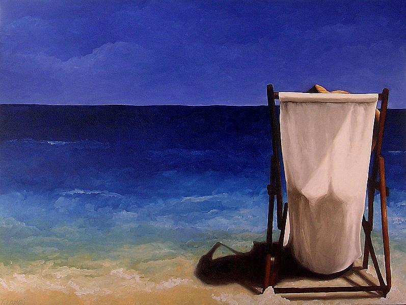 Seascape Painting - Summer Days by Trisha Lambi