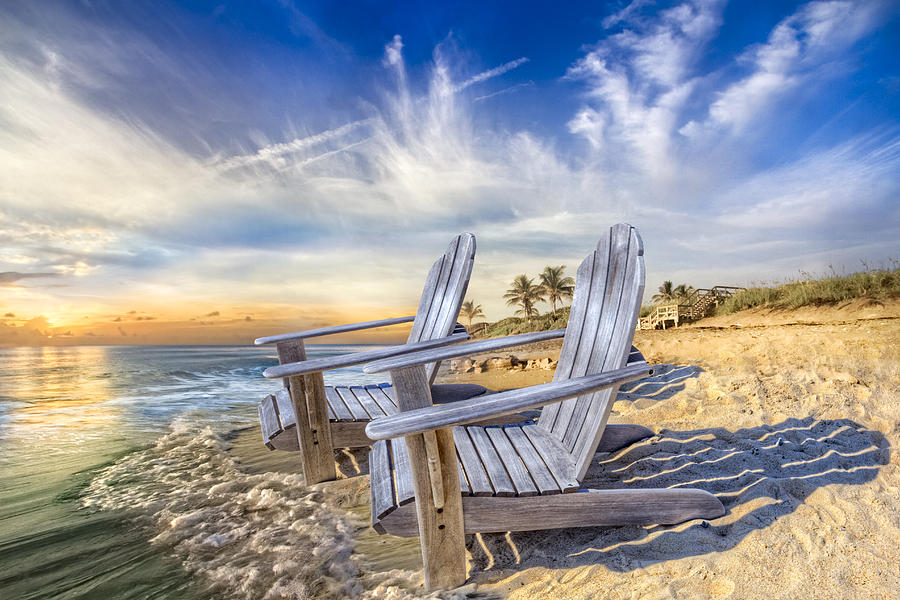 Clouds Photograph - Summer Dreaming by Debra and Dave Vanderlaan