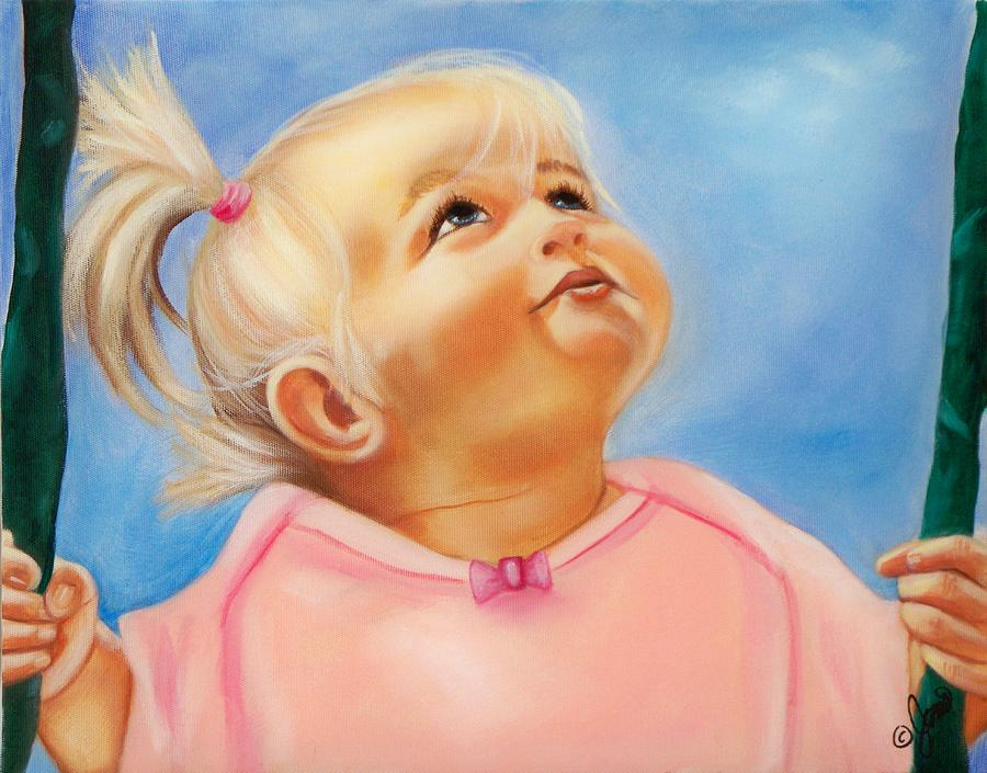 Portrait Painting - Summer Dreams  by Joni McPherson