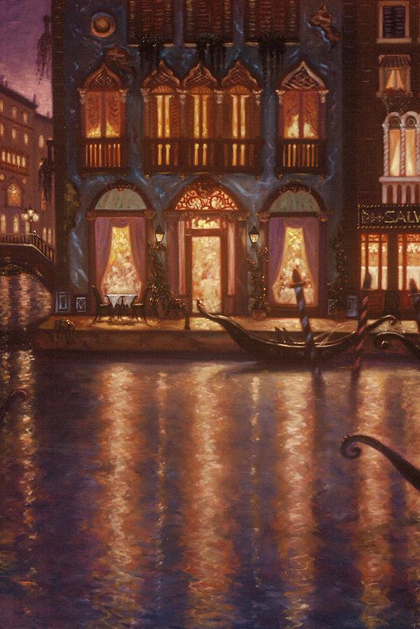Venice Painting - Summer Evening In Venice by Scott Jones