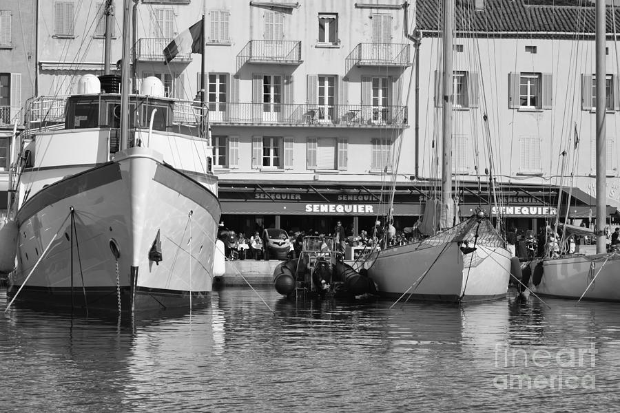 Summer Photograph - Summer Feelings Saint - Tropez by Tom Vandenhende