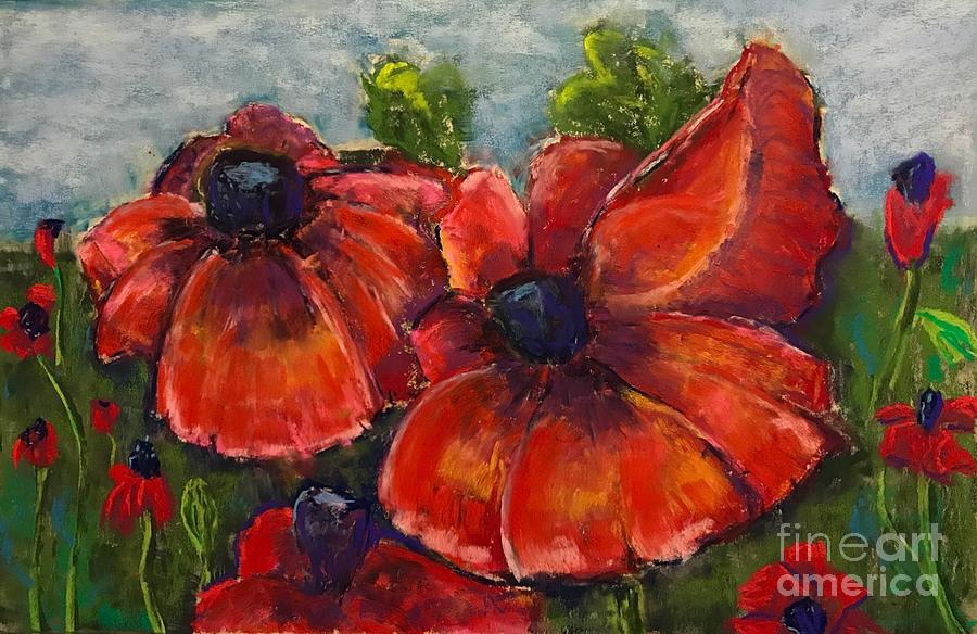 Summer Field of Poppies by Vickie Scarlett-Fisher