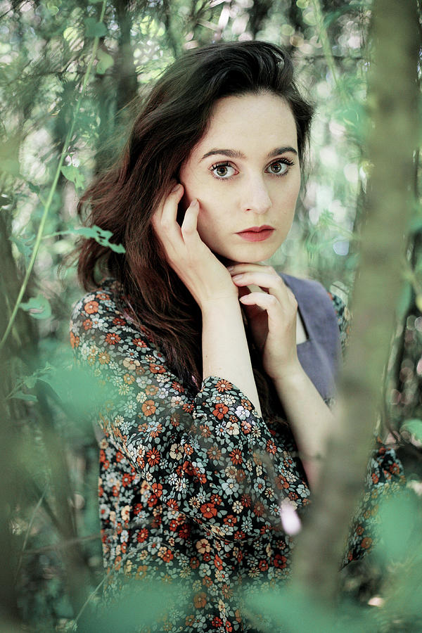 Woman Photograph - Summer Forest by Cambion Art