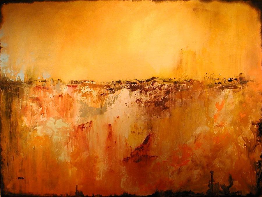 Abstract Painting - Summer Forever by Sabina Surya Naya