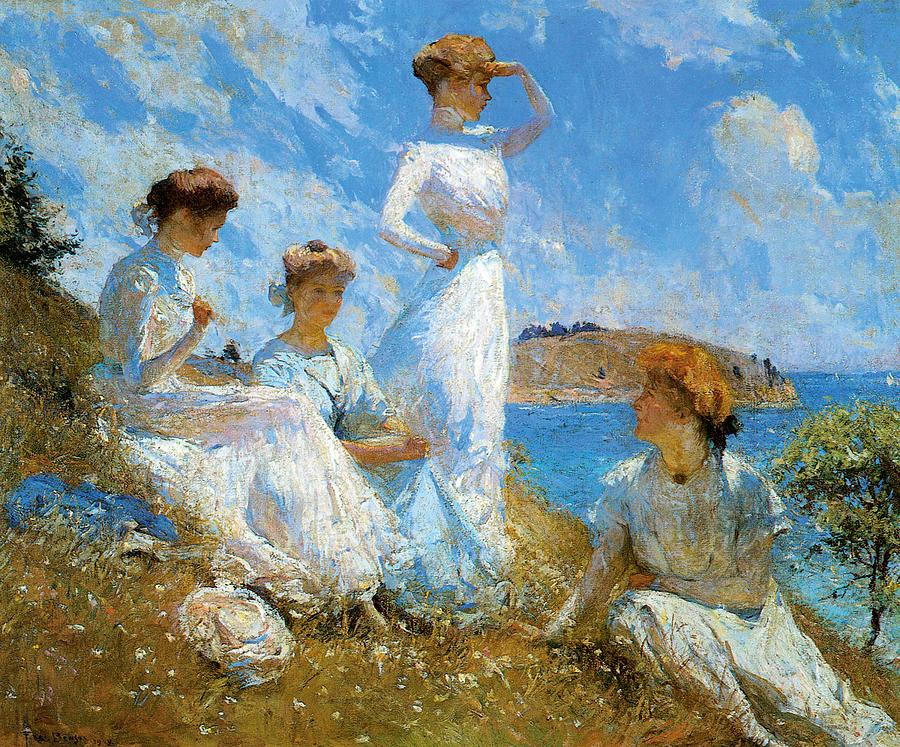 Summer Painting - Summer by Frank Weston Benson