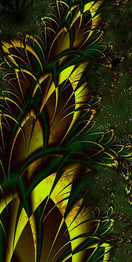 Fractals Digital Art - Summer Frenzy by Amanda Moore