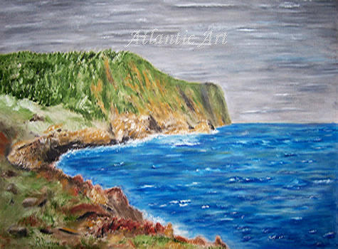 Landscape Painting - Summer Grey by Ragnar Jonsson