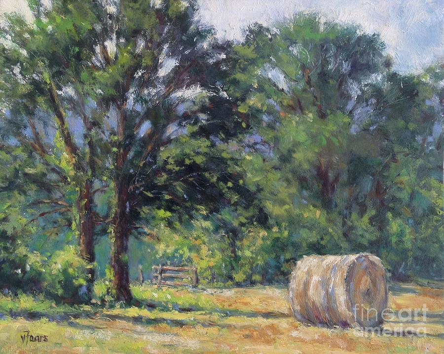 Summer Hay at the Ranch by Vickie Fears