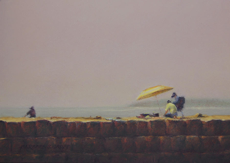 Rockport Painting - Summer Haze by Barbara Groff