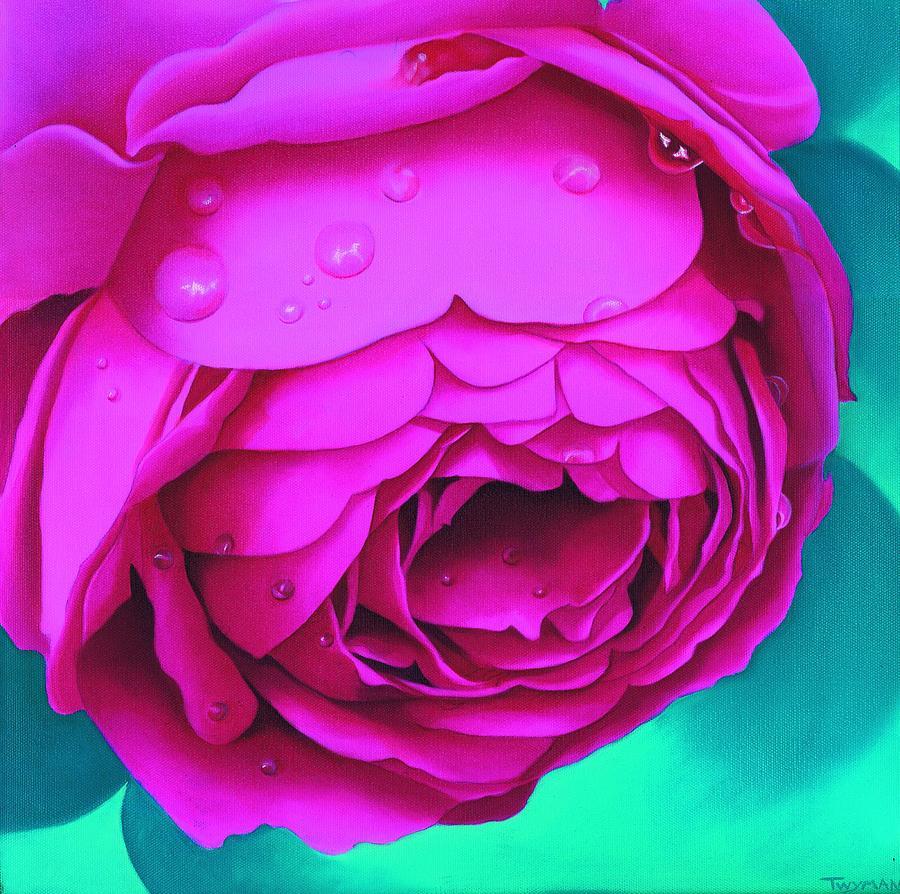 Rose Painting - Summer Hideaway by Susan Twyman