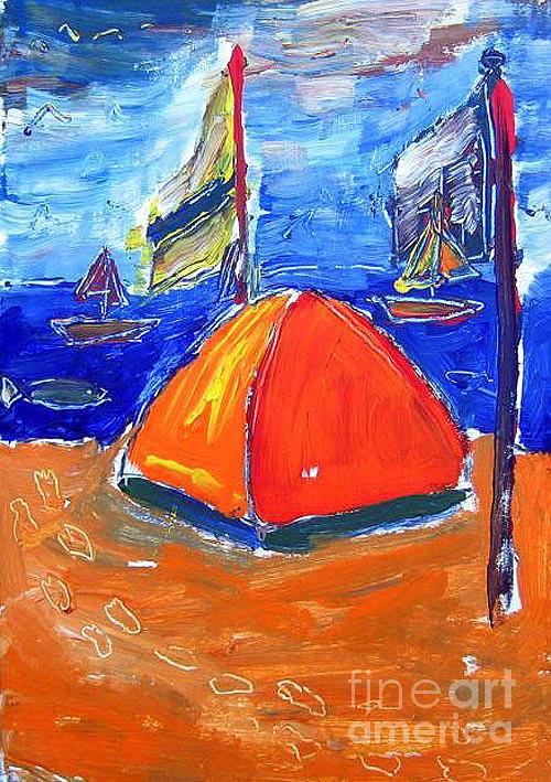 Summer Painting - Summer Holiday by Joe Scoppa
