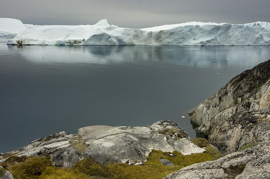 Icebergs Photograph - Summer In Greenland by Robert Lacy
