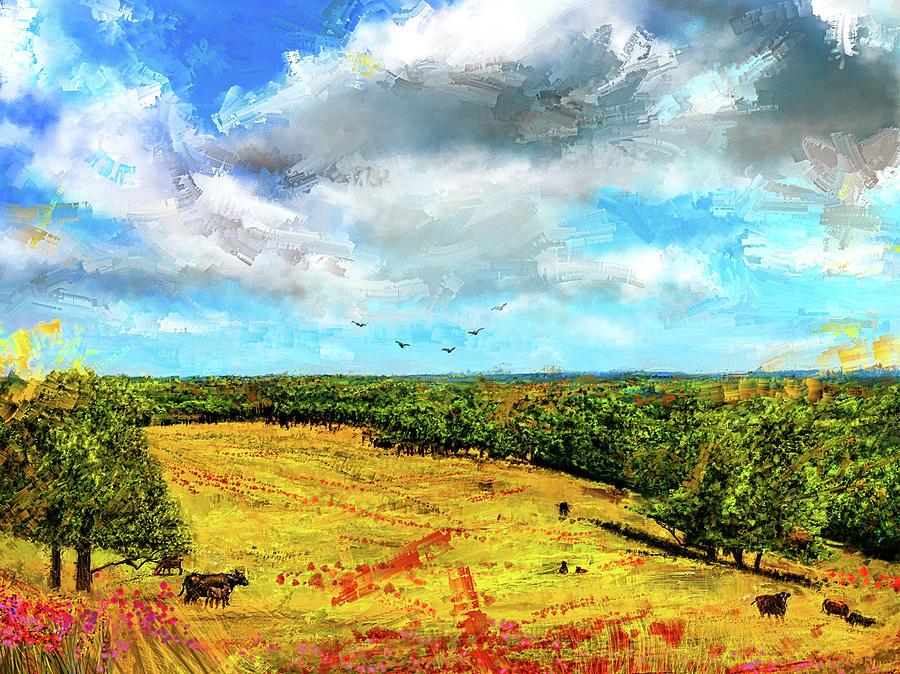 Summer Interlude -Missouri Art by Lourry Legarde
