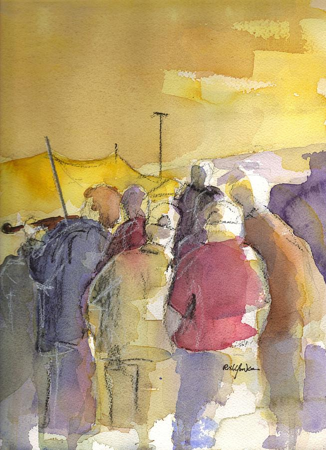 Music Festival Painting - Summer Jam by Robert Yonke
