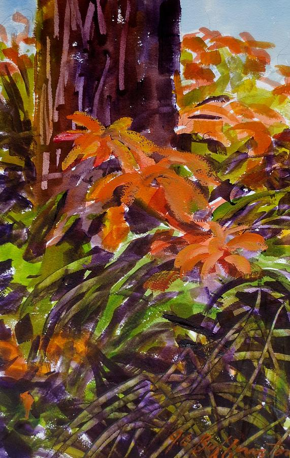 Tiger Lilly's Painting - Summer by JULES Buffington
