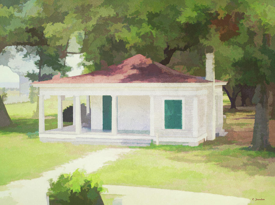 Summer Kitchen by Cathy Jourdan