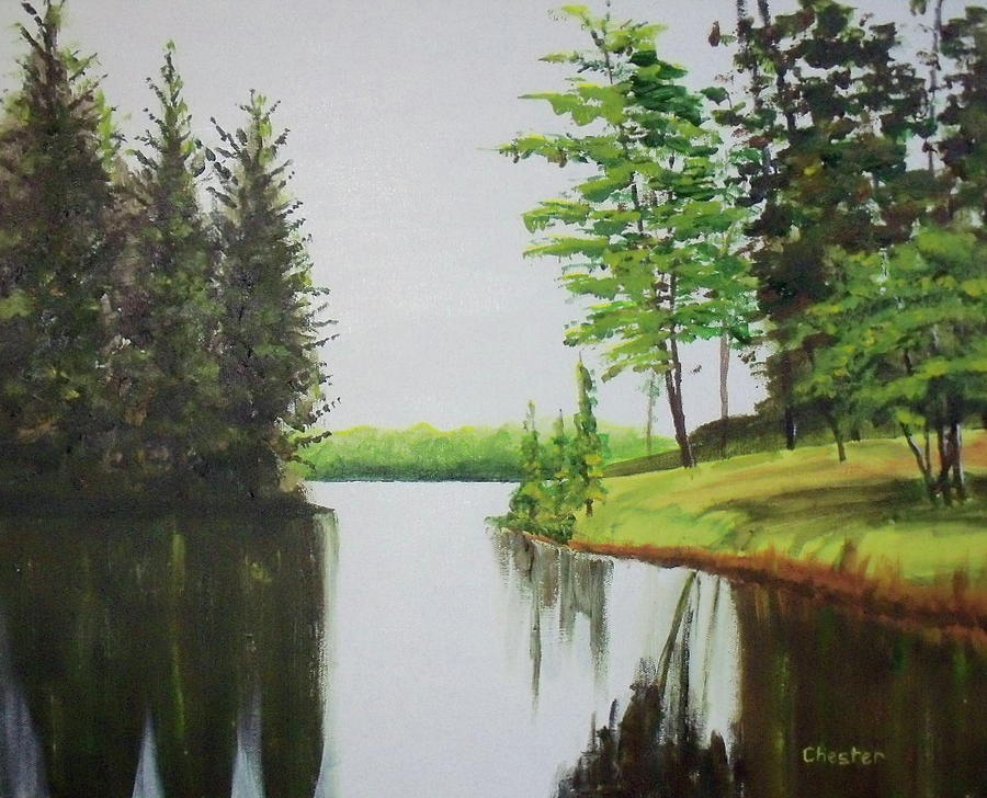 Summer Lake by Francis Chester