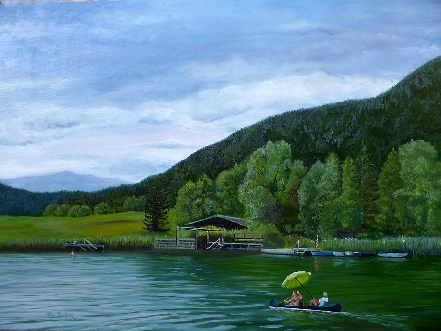 Summer lake by Petra Stephens