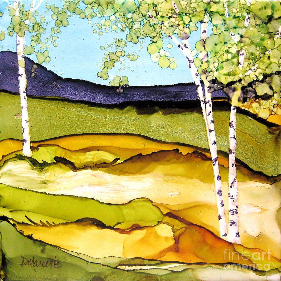 Landscape Painting - Summer Landscape I by Diane Marcotte